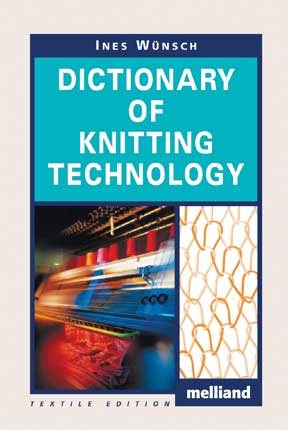 Knitting Pattern Dictionary : Pakistan Textile Journal.December-2009- Technical Textiles & Nonwovens-BO...